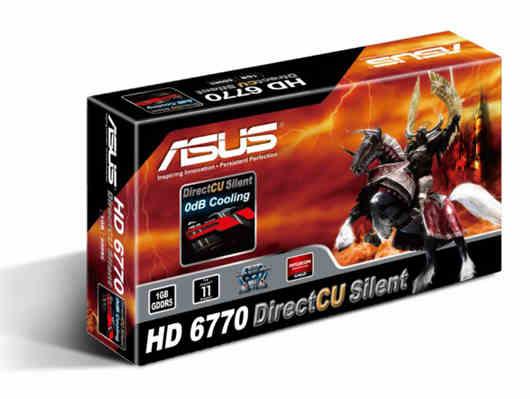 Radeon 6770 DirectCU Silent BOX