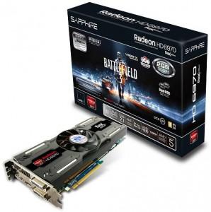 SAPPHIRE Radeon HD 6970 2GB Battlefield 3 Special Edition