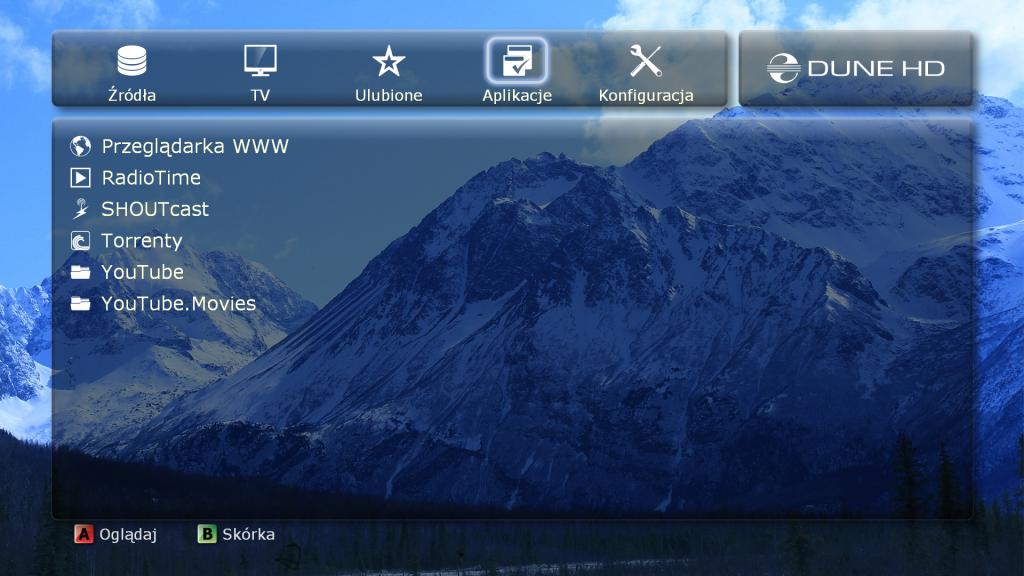 HD Dune Aplikacje