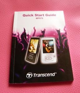 Start Guide MP870